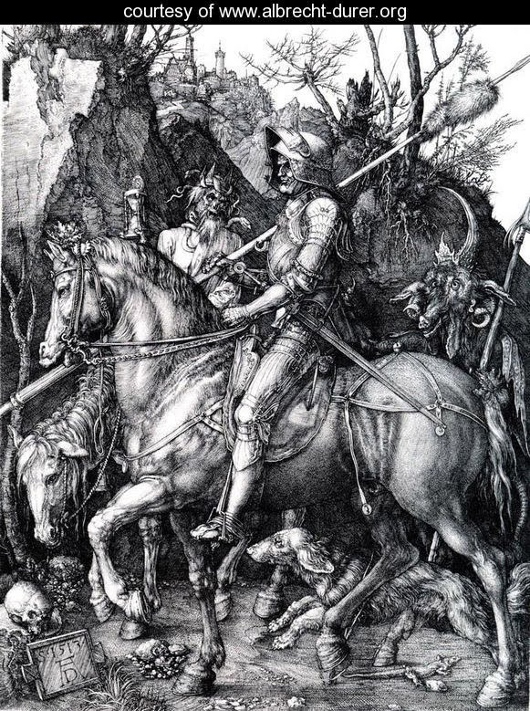 Durer-The-Knight--Death-And-The-Devil
